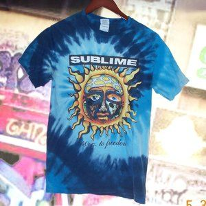 "(2/$11) SUBLIME ""40oz to Freedom""  Tie-Die T-shirt"